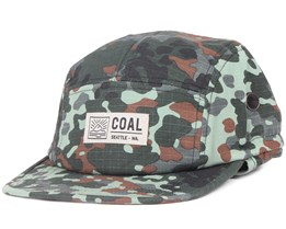 The Trek Camo 5-Panel - Coal