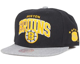 Boston Bruins Forward Line Snapback - Mitchell & Ness