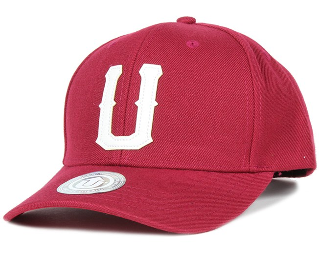United 2 Baseball Bordeaux Adjustable - Upfront lippis - Hatstore.fi 8fe70912c8