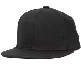 Kids Snapback Black - Basic Cap