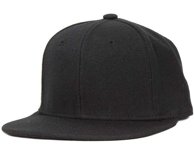 Kids Snapback Black - Basic Cap