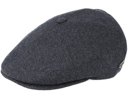 Rebel Wool/Cashmere Grey Flat Cap - MJM Hats