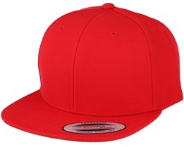 Kids Youth Red Snapback - Yupoong