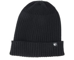 Sweep Black Beanie - Upfront