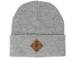Official Fold Light Grey Melange Beanie - Upfront