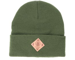 Official Fold Olive Beanie - Upfront