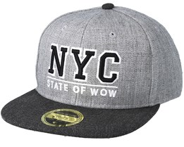 Toronto 2 Junior Grey Snapback - State Of Wow