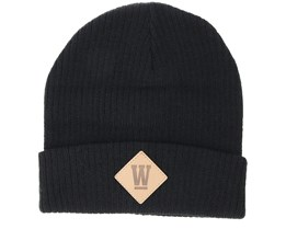 Kids West Junior Black Beanie - Upfront