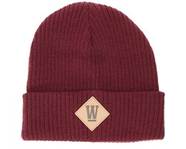 West Junior Bordeaux Beanie - Upfront