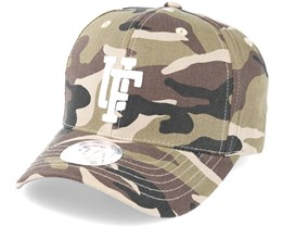Spinback Baseball Camo Adjustable - Upfront
