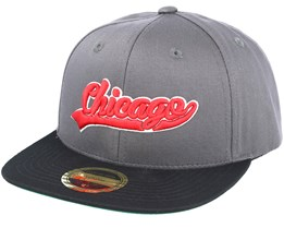 Kids Chicago Youth Grey Snapback - State of wow