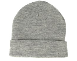 Clover Wool Light Grey Melange Beanie - Upfront