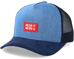Beverly Baseball Denim/Navy Trucker - Upfront