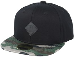 Kids West 2-tone Youth Black/Pattern Snapback - State Of Wow