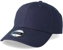 Wolf Baseball Cap Navy Blue Adjustable - State Of Wow