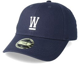 Kids Wilmer Youth Baseball Navy Blue Adjustable - State Of Wow