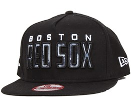 Boston Red Sox City Fill Black 9Fifty Snapback - New Era
