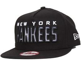 NY Yankees City Fill Black 9Fifty Snapback - New Era
