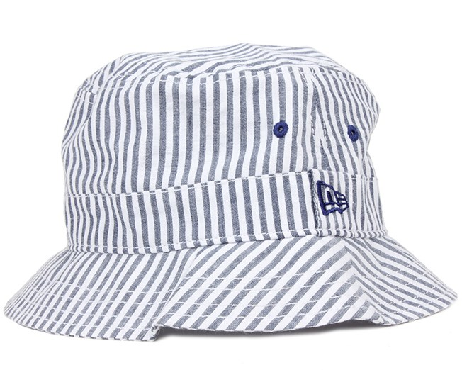 Stripes Blue Bucket - New Era