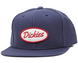 Sherwood Navy Blue Snapback - Dickies