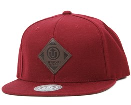 Offspring Burgundy/Brown Snapback - Upfront