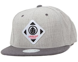 Off Summer Light Grey/Dark Grey Snapback - Upfront