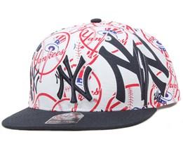 NY Yankees Bravado Snapback - 47 Brand