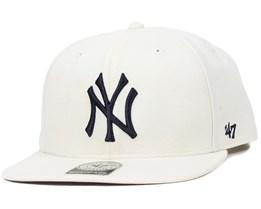 NY Yankees No Shot Natural Snapback - 47 Brand