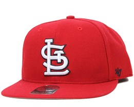 St. Louise Cardinals Sure Shot Red Snapback - 47 Brand