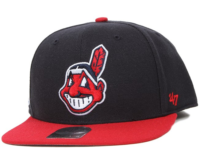 ... best price cleveland indians sure shot 2 tone navy red snapback 47 brand  ae519 4b34b 3ff5c6582291