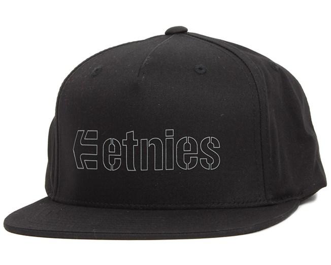 Corporate 5 Black Snapback - Etnies