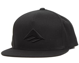 Triangle Black Snapback - Emerica