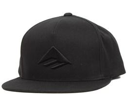 Triangle Black Snapback - Emerica