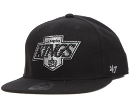 La Kings Sure Shot Black Snapback - 47 Brand