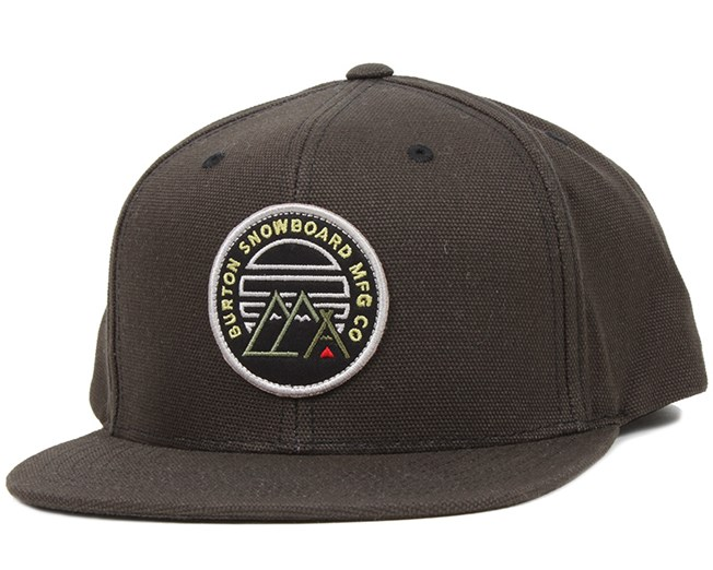Foothills True Black Snapback - Burton