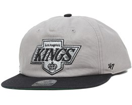 LA Kings Marvin Grey/Black Snapback - 47 Brand
