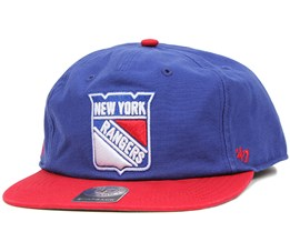 54 Brand - NY Rangers Marvin Blue/Red Snapback
