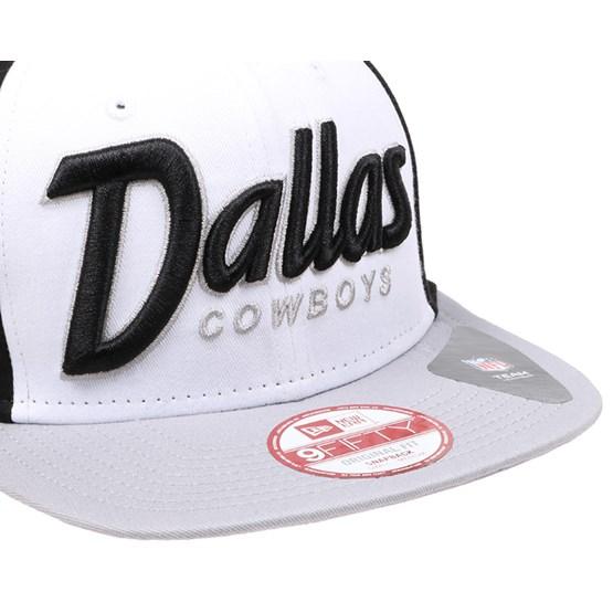 Dallas Cowboys Seasonal Script 9Fifty Snapback - New Era caps ... 333e2b3eda71