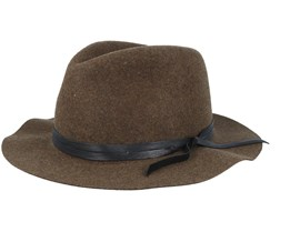 Obie Woodland Mix Brown Fedora- Bailey