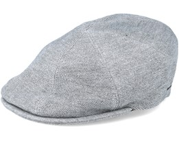 Sobel Heather Grey Flat Cap - Bailey