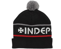 Indy Stripe black Beanie - Independent