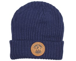 Badge Patriot Blue Beanie - Colour Wear