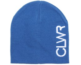 Logo Power Blue Beanie - Colour Wear