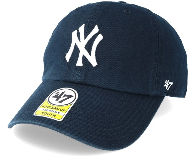 50ed9567 ... kids new york yankees youth clean up home adjustable 47 brand caps  hatstore