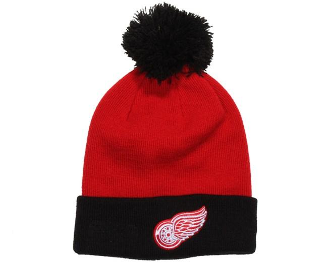 Kids Detroit Red Wings Bobble Cuff - New Era