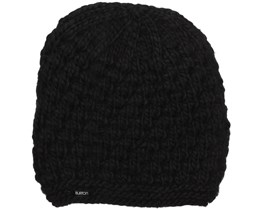 Woman Big Bertha True Black Beanie - Burton