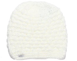 Woman Big Bertha Stout White Beanie - Burton
