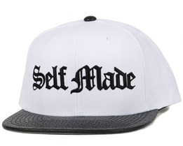 Self Made Python White Snapback - Famous S&S