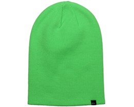 Jewell Slouch Neon Green Beanie - Quiksilver