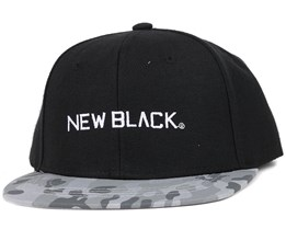 Plane Black Snapback - New Black